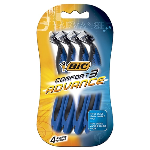 Image for BIC Comfort 3 Advance - 4 Pack from Amcal