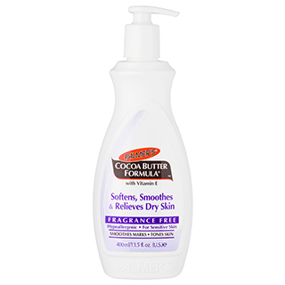 Image for Palmer's Cocoa Butter Formula Fragrance Free Lotion - 400mL from Amcal