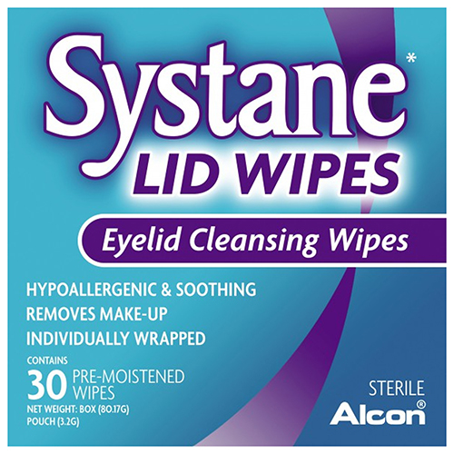 Image for Systane Lid Wipes - 30 Pack from Amcal