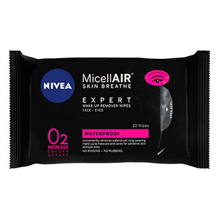Image for Nivea MicellAIR Expert Make-up Remover Wipes - 20 Pack from Amcal
