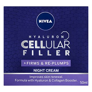 Image for Nivea Hyaluron Cellular Filler Night Cream - 50mL from Amcal