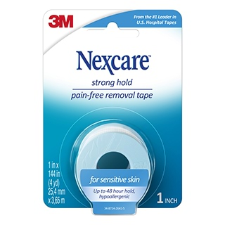 Image for Nexcare Sensitive Skin Tape - 25.4mm from Amcal