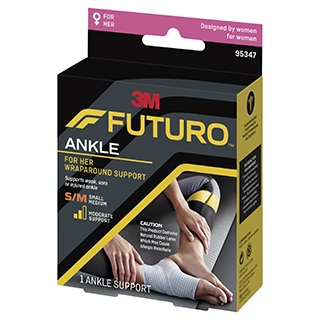 Image for Futuro For Her Slim Silhouette Ankle Support - Small/Medium from Amcal