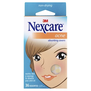 Image for 3M Nexcare Acne Absorbing Pads Assorted - 36 Pack from Amcal