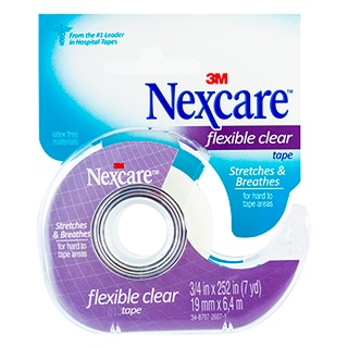 Image for Nexcare Disposable Clear Paper Tape - 19mm from Amcal