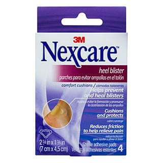 Image for Nexcare Heel Blister Cushions - 4 Pack from Amcal