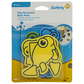 Image for Safety 1st Infant Slip Resistant Bath Mats from Amcal
