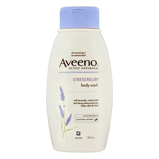 Image for Aveeno Stress Relief Body Wash - 354mL from Amcal