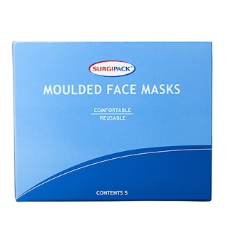 Image for Surgipack 6220 Moulded Face Mask - 5 pack from Amcal