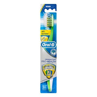 Image for Oral-B CrossAction Anti-Bacterial Toothbrush - Medium from Amcal
