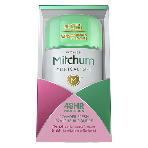 Image for Mitchum Clinical Gel Powder Fresh - 57g from Amcal