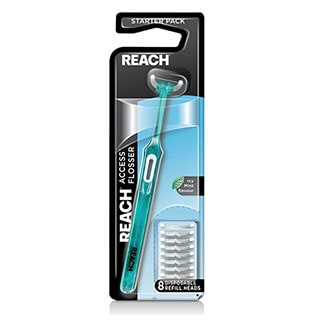 Image for Reach Access Flosser Starter - 8 Pack from Amcal