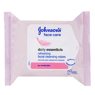 Image for Johnson's Daily Essentials Cleansing Wipes Normal Skin - 25 Pack from Amcal