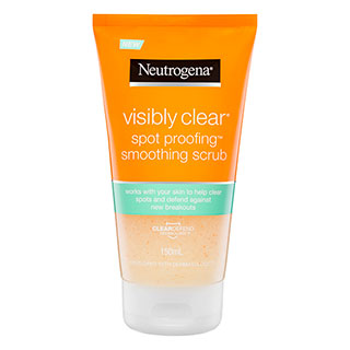 Image for Neutrogena Visibly Clear Spot Proofing Smoothing Scrub - 150mL from Amcal