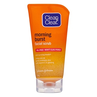 Image for Clean & Clear Morning Burst Facial Scrub - 141g from Amcal