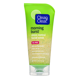 Image for Clean & Clear Morning Burst Shine Control Scrub - 141g from Amcal