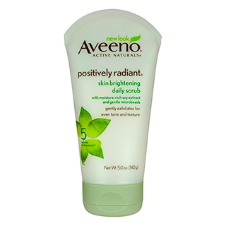 Image for Aveeno Skin Brightening Daily Scrub - 140g from Amcal