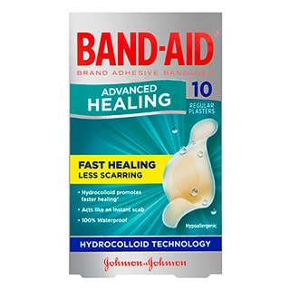 Image for Band-Aid Advanced Healing Strip Regular - 10 Pack from Amcal