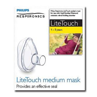 Image for Philips Respironics Lite Touch Mask - 1-5 years from Amcal