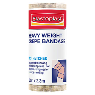 Image for Elastoplast Crepe Bandage Heavy Weight - 10cm x 2. 3m from Amcal