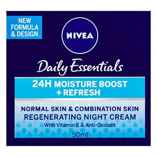 Image for Nivea Daily Essentials Regenerating Night Cream - 50mL from Amcal
