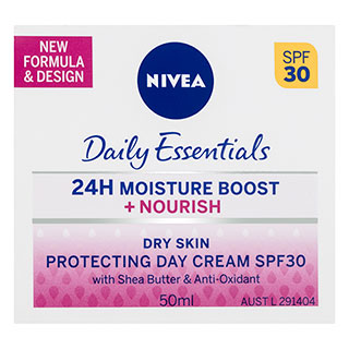 Image for Nivea Daily Essentials Sensitive Cream Spf 30+ - 50ml from Amcal