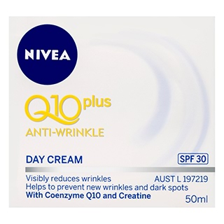 Image for Nivea Q10 Plus Anti-Wrinkle Day Cream SPF 30 - 50ml from Amcal