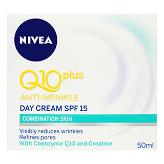 Image for Nivea Q10 plus Anti-Wrinkle Light Day Cream Combination Skin - 50mL from Amcal