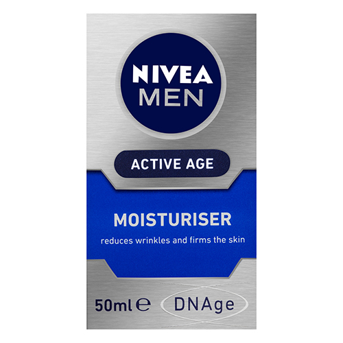 NEW Nivea Skin Moisturiser Men DNAge Moisturiser 50mL
