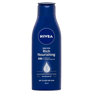Image for Nivea Rich Nourishing Body Lotion - 250 mL from Amcal