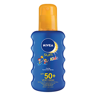 Image for Nivea Kids Coloured Spray SPF 50+ - 200mL from Amcal