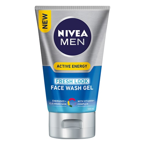 Image for Nivea Men Skin Energy Face Wash Q10 - 100mL from Amcal