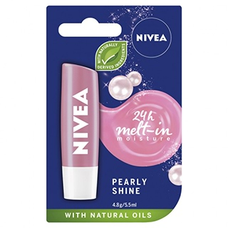 Image for Nivea Lip Care Pearly Shine SPF10 - 4.8g from Amcal