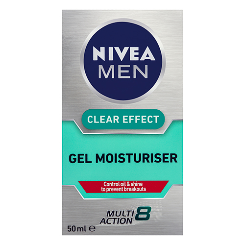 Image for Nivea Men Clear Effect Gel Moisturiser - 50ml from Amcal