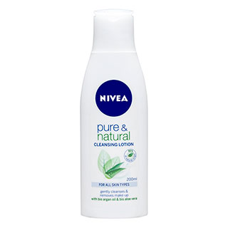 Image for Nivea Visage Natural Cleansing Lotion - 200mL from Amcal