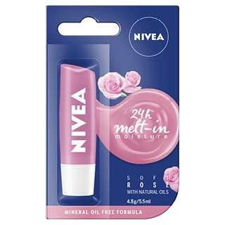Image for Nivea Lip Care Soft Rose - 4.8g from Amcal