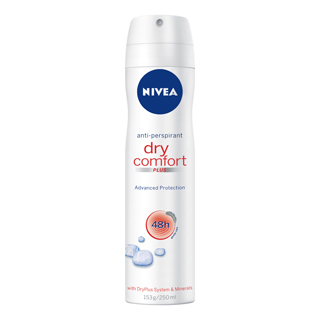 Image for Nivea Deodorant Dry Comfort - 250mL from Amcal