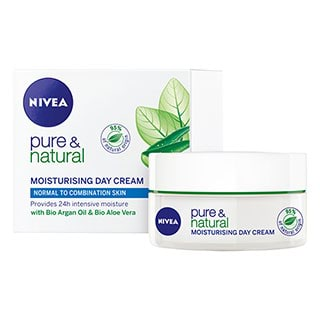 Image for Nivea Pure & Natural Moisturising Day Cream - 50ml from Amcal