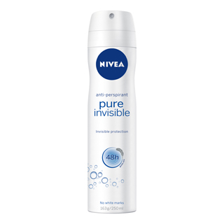 Image for Nivea Deodorant Pure Invisible - 250mL from Amcal