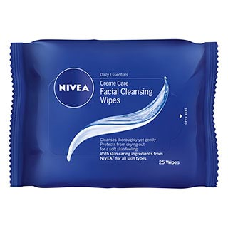 Image for NIVEA Daily Essentials Creme Care Wipes 25 Pack from Amcal