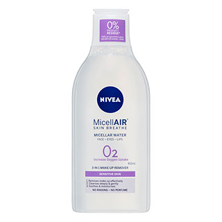 Image for Nivea Daily Essentials Sensitive Caring Micellar Water - 400mL from Amcal
