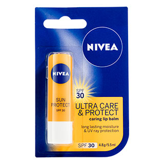 Image for Nivea Lip Balm Sun Protect SPF30 - 4.8g from Amcal