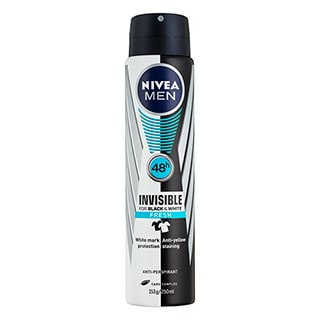 Image for Nivea Men Invisible for Black and White Fresh - 250mL from Amcal