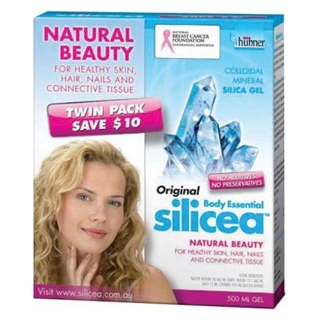 Image for Silicea Gel Twin Pack - 2 x 500ml from Amcal