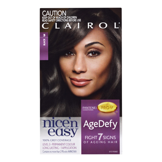 Image for Clairol Nice 'n Easy Age Defy 3 Black from Amcal