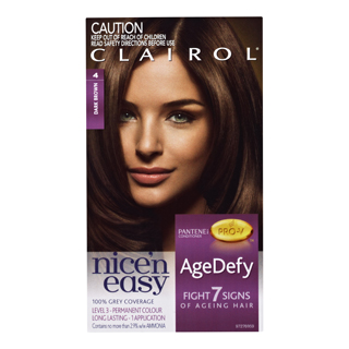 Image for Clairol Nice 'n Easy Age Defy 4 Dark Brown from Amcal