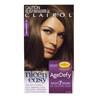 Image for Clairol Nice 'n Easy Age Defy 5 Medium Brown from Amcal