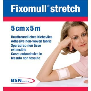 Image for Fixomull Stretch - 5cm X 5m from Amcal