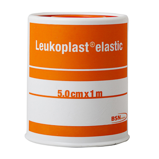 Image for Leukoplast Elastic Tape Tan - 5cm x 1m from Amcal