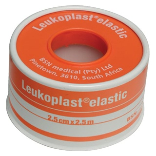 Image for Leukoplast Elastic 2.5cm x 2.5m from Amcal